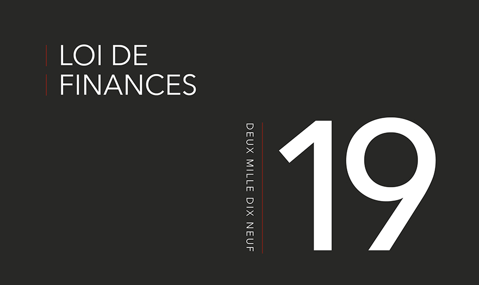 1ercouv Loi de finances 2019