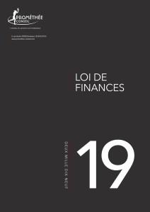 1re de couv Loi de Finances pour 2019