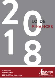 Loi de Finances pour 2018
